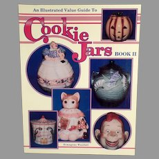 Vintage Cookie Jar Reference Book - Ermagene Westfall - Soft Cover Book Two