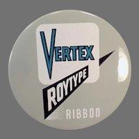 Vintage Vertex Roytype Royal Typewriter Company Typewriter Ribbon Tin