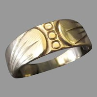 Woman's Vintage 14k Yellow Gold Wedding Band – Approximate Size 5 ½+ Ring