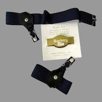 Vintage Gem-Dandy Danbury Garters for Men with Original Box - Unused