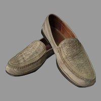 Men's Vintage Johnston & Murphy Passport Slip-On Leather Shoes – Made in Brazil