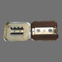 Vintage Dunbar Gibson Volpin Razor Hone -1930's Safety Razor Blade Sharpener