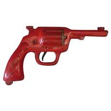 Vintage Pressed Steel Wyandotte Clam Shell Cap Gun Pistol – Missing Pieces