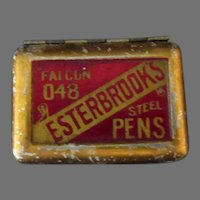 Vintage Esterbrook Falcon 048 Steel Pens Original Tin