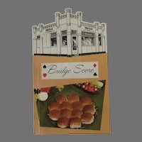 Vintage White Castle Hamburger Restaurant Advertising Bridge Notepad