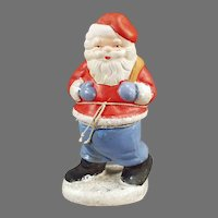 Vintage Santa Claus Christmas Candy Container made in West Germany