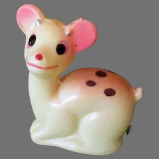 Vintage Celluloid Deer Tape Measure – Sweet Spotted Fawn