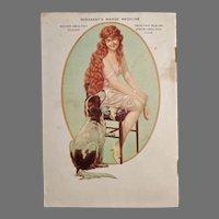 Vintage 1927 Polk Miller's Advertising Booklet - Wonderful  Dog Reference Material