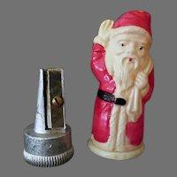 Vintage Celluloid Pencil Sharpener - Figural Santa Claus Sharpener – Made in Japan