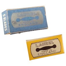 Vintage Lady Laurel Safety Razor Replacement Blades Box of 5