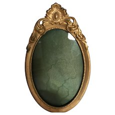 Wonderful Ornate Art Nouveau Brass Picture Frame