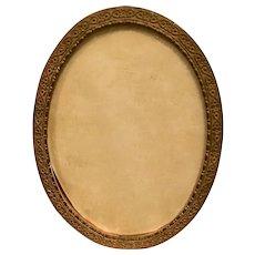 Lovely Victorian Brass Frame