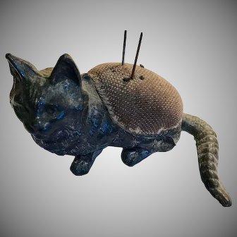 Wonderful Victorian Cat Pin Cushion