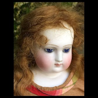 French fashion bisque doll BS size 4