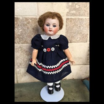 Nice Bleuette unis France 60 8/0 of 10,8 Inches tall