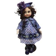Googly artist doll, single copy