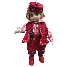 Single copy of a French googly doll made by a French artist , 12 inches tall