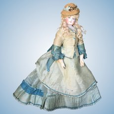 Rare French fashion bisque doll 18 inches tall remond brevet