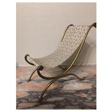 Rare huret étrusque  chair for french Fashion Bisque doll
