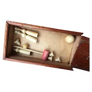 Rare small croquet game for French dolls
