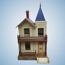 Antique gottschalk doll house 19e all original