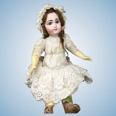 Rare Henri Delacroix french bisque Doll 21 Inches tall