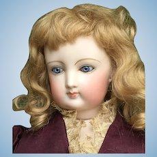 Wonderful fg5 French fashion bisque doll