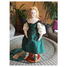 Rare french Fashion bisque Doll dehors model