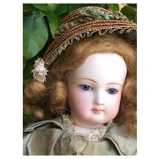 Wonderful French fashion bisque doll 18 inches Lavallée peronne