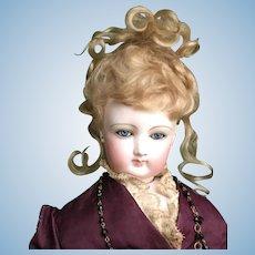 Wonderful French fashion bisque doll FG5