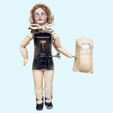 Rare french automaton Doll of 24 inches tall