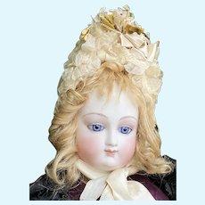 Wonderful bru french fashion bisque doll 20 inches tall