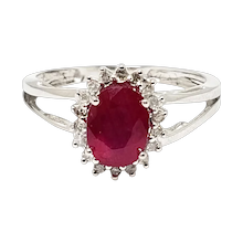 White Gold  Vintage Jewelry