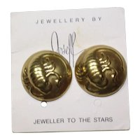 Joseff Scorpio Zodiac Earrings