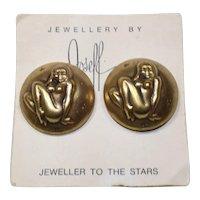 Joseff Virgo Zodiac Earrings