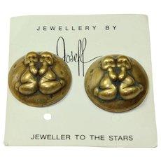 Joseff Gemini Zodiac Earrings