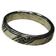 Vintage Silver Plated Bangle Bracelet