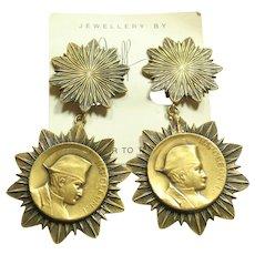 Joseff Napoleon Earrings