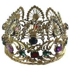 Radiant Iconic Jeweled Joseff Crown