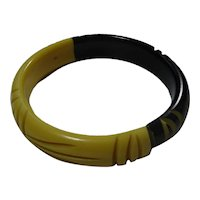 Two-Toned Bakelite Bracelet
