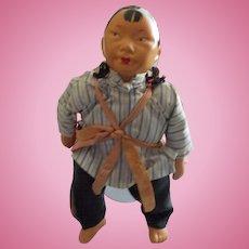A Vintage Michael Lee Mother and Infant Dolls
