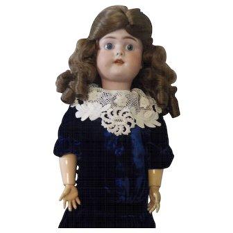 "22""  German Bisque Simon & Halbig GB Doll"