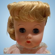"Minty 13"" Jolly Doll 1950s-1960s with original box and tag"