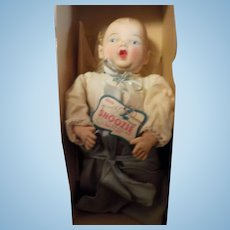 "15"" All Original Snoozie Doll with original box, hang tag and crier"