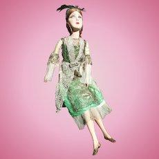 "French Boudoir Doll, 1910-1920, 30"" (76cm)"