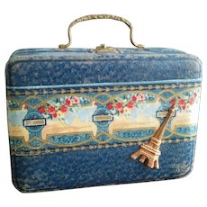 """Antique Suitcase for a 16-18"""" Doll"""