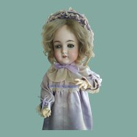 "Armand Marseille ""Queen Louise"" Bisque Head Doll, incised ""288 Queen Louise Germany,"" ht. 24 1/2 in.  (ALL ORIGINAL!)"