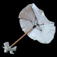 "Lovely Antique Umbrella/Parasol 10 1/2"" (26,5 cm)"