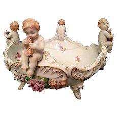 Von Schierhold Porcelain Fruit Vase