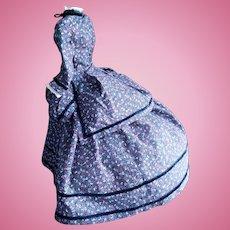 """French Fashion Doll Dress for a 18""""(46 cm) doll"""